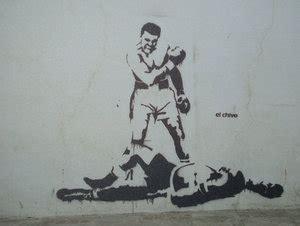 muhammad ali custom stencil by graffitis de muhammad ali siempre ser 225 recordado como un