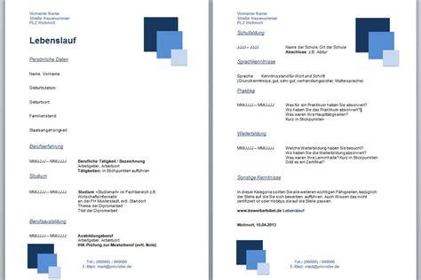 Lebenslauf Vorlage Office 2013 Tabellarischer Lebenslauf Schreiben Lernen Und Erstellen