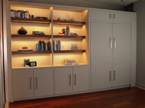 murphy bed bookshelves bookshelf with murphy bed contemporary bookcases