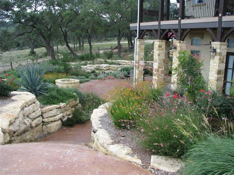 hill country xeriscaping hill country landscape