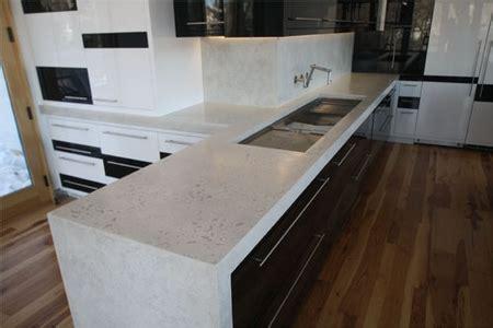 Cast Concrete Countertop by Concrete Countertop Design Competition Cast In Place That Looks Precast Decorative Concrete