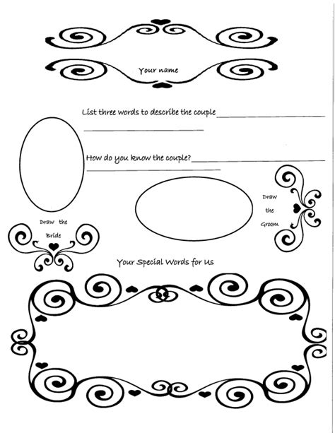 diy wedding guest book template guest book shower weddingbee photo gallery