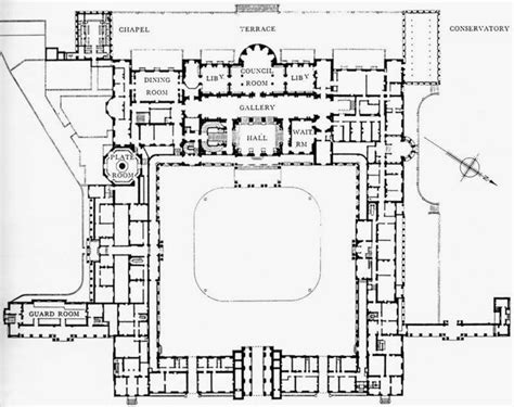 Inside Buckingham Palace Floor Plan | art now and then buckingham palace