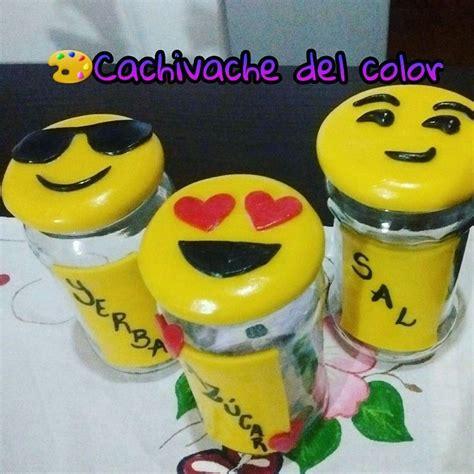 frascos decorados con porcelana fr 237 a frascos emoticones - Frascos Decorados Regalo