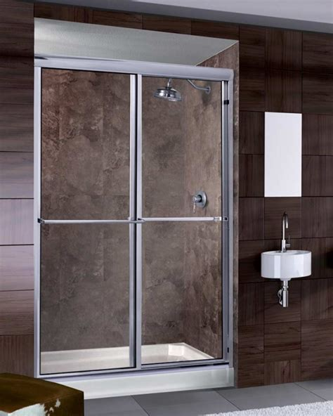 Waterfall Shower Doors Sliding Doors Archives Waterfall Bath Enclosures