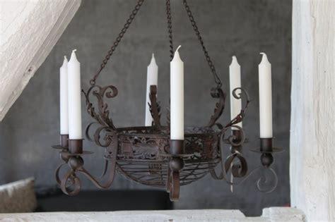 Decken Kerzenleuchter by Decken Kerzenleuchter Dunkelbraun Lackiert Shabby Look
