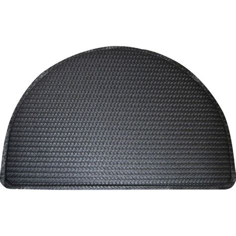 Cushion Mats For Kitchen by Home Dynamix Soothing Step Black 24 In X 36 In Anti
