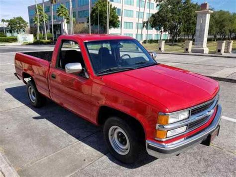 florida beauty 1992 chevy silverado 1500 factory 5 speed manual 5 7 see video for sale