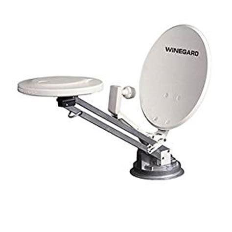 rv satellite dish tv antenna crank up omni directional vhf uhf signal digital with