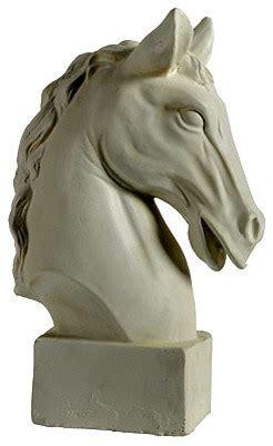horse statue home decor horse head statue 10 5 quot x6 quot x16 quot traditional decorative