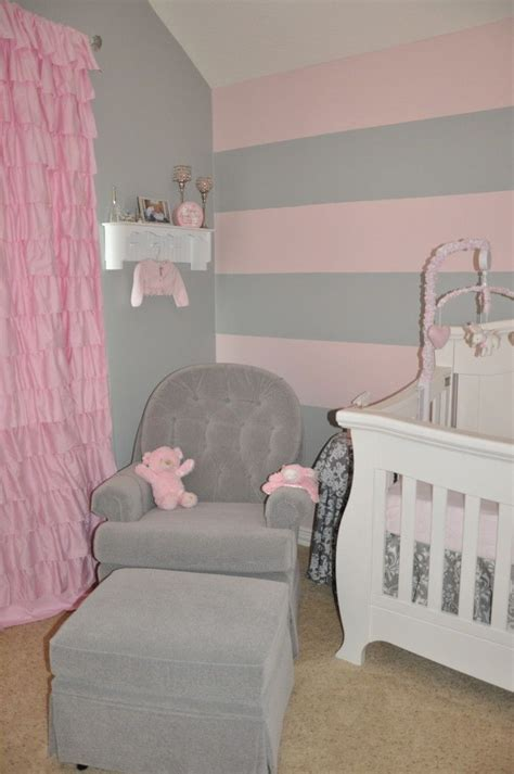 best 25 pink striped walls ideas on