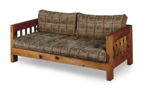 rustic furniture sofa a pair of american rustic pine sofas manufactured by