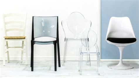 sedie plexiglass sedia in plexiglass comodit 224 trasparente in salotto