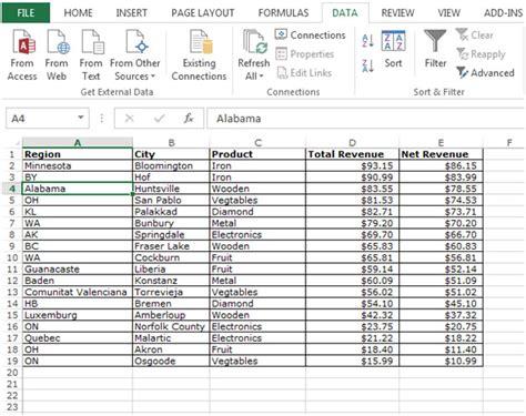 tutorial excel subtotal creating subtotals summary in microsoft excel 2010