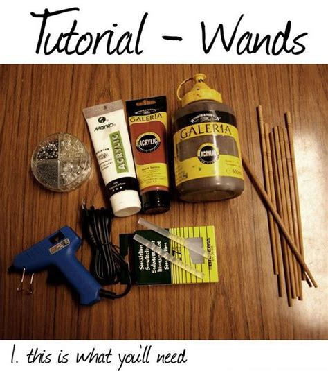 How To Make A Paper Harry Potter Wand - diy harry potter style wands barnorama