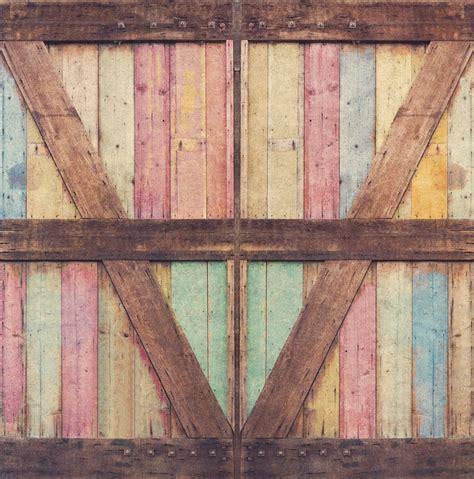 Photography Backdrop Distressed Wood Barn Door By Barn Door Backdrop