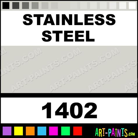 stainless steel model acrylic paints 1402 stainless steel paint stainless steel color