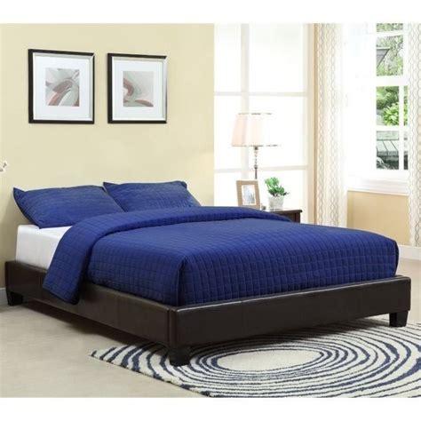 Platform Upholstered Bed by Modus Furniture Ledge Upholstered Platform Bed In