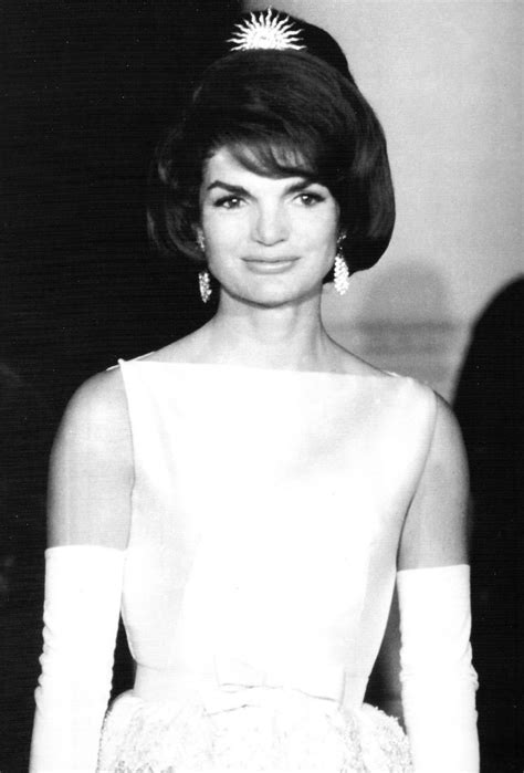 kennedy jacqueline jacqueline kennedy at the state dinner for the shah of