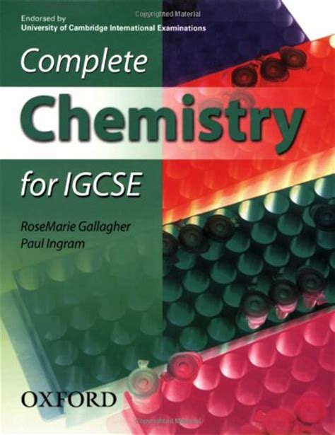 libro complete chemistry for cambridge libro complete chemistry for igcse endorsed by university of cambridge international