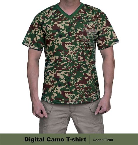 T Shirt Valentino Impor Special Camoflage Edition Kode Ts Valentino t shirt digital camo outdoor accessories supplier