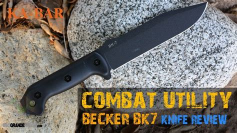 beker bk7 kabar bk7 becker combat utility knife review