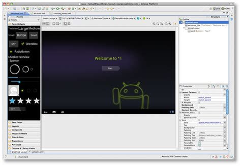 layout android app eclipse improved layout editor windowing android studio project site
