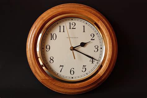 Jam Dinding Coffee Time free photo alarm clock classic clock free image