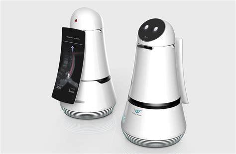 Robot Pembersih Lantai Lg Robot Keluaran Lg Akan Membantu Penumpang Dan Membersihkan