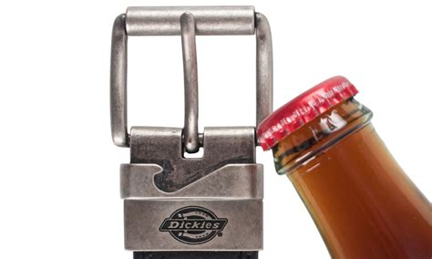 Belt Bottle Opener by Dickies Belt With Bottle Opener Buckle Size S Groupon