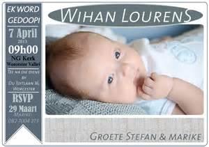 Wihan.Doop.Uitnodiging   Jane´ van Litsenborgh Photography