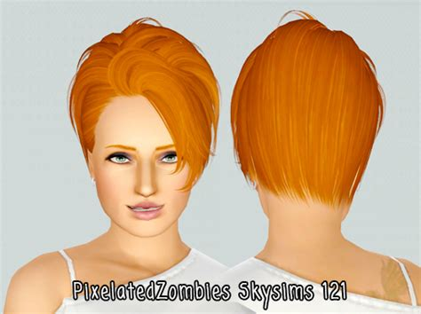 sims 3 custom content fringe hairstyle the sims 3 fringe accent hairstyle skysims 121 retextured