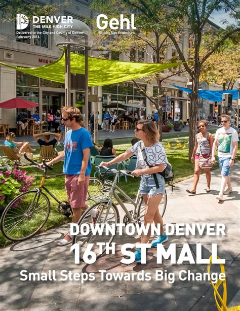 haircuts 16th street denver downtown denver 16th st mall small steps towards big