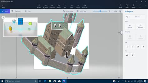 microsoft paint 3d review rating pcmag com windows 10 microsoft windows 8 1 update