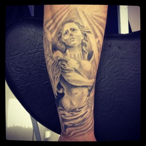 angel tattoo on forearm angel tattoos and designs page 365