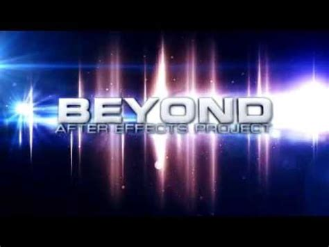 free intro templates for after effects cs5 free beyond intro template after effects cs5 cs6