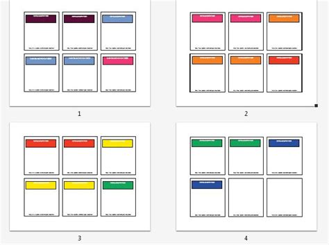 monopoly template gallery monopoly cards template