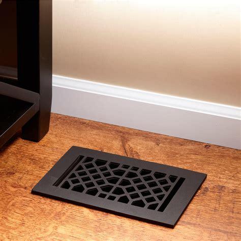 cast iron floor air return grille hardware
