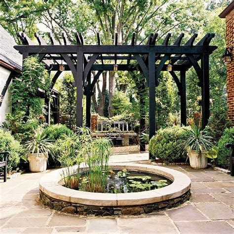 Backyard Pergola Designs by 22 Beautiful Garden Design Ideas Wooden Pergolas And
