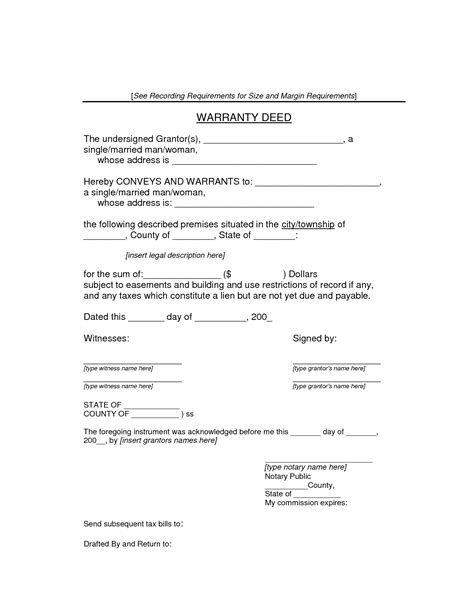 best photos of warranty deed form florida warranty deed