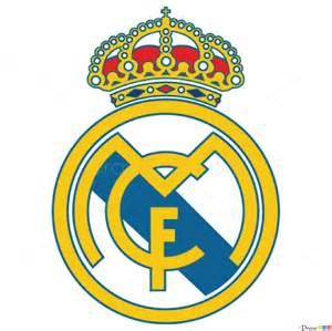 how to draw real madrid football logos how to draw