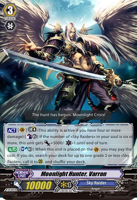 Cardfight Vanguard Card Maker Template by User Maxus1576 Clan Idea Cardfight Vanguard Wiki