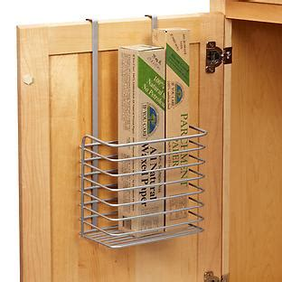 cabinet door kitchen wrap organizer kitchen wrap organizer the container store