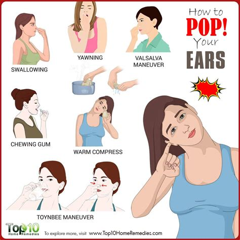 how to pop your ears top 10 home remedies