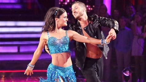 val chmerkovskiy i was in love with danica mckellar val chmerkovskiy to be careful with danica mckellar on