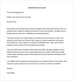 Cover Letter Email With Resume 15 Best Sle Cover Letter For Experienced Wisestep