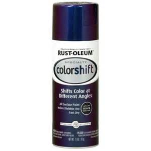 rust colored spray paint rust oleum specialty 11 oz galaxy blue color shift spray