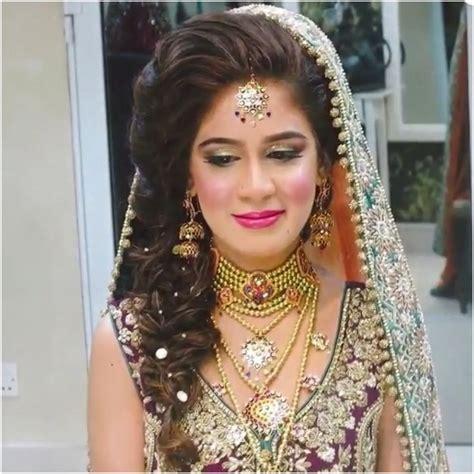 Pakistani Hair Plait | loose braid for mehndi hair did pinterest braids