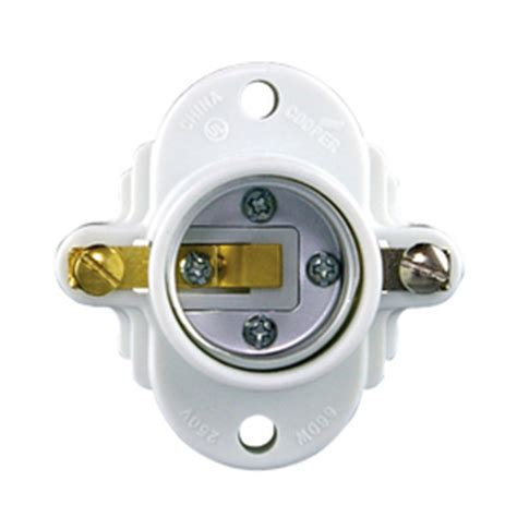 harbor 60 watt white l socket shop light sockets adapters at lowesforpros com