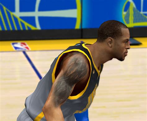 andre iguodala tattoos andre iguodala cyberface hair and update for 2k14